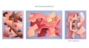 Tech Mechanical Triptych